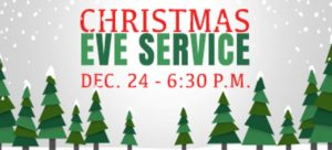 Christmas Eve Worship Service @ 6:30pm @ Faith Journey United Methodist Church | Clay | New York | United States