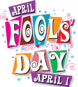 Happy April Fools Day, April 1st, 2019!  Don't get tricked